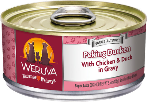 Weruva Peking Ducken Dog Food 5.5 oz