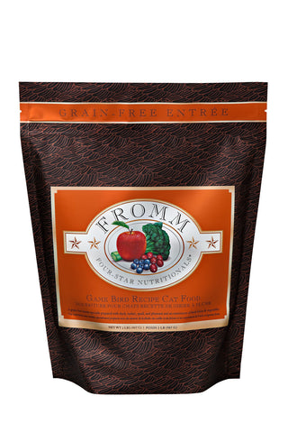 Fromm Four-Star Grain Free Game Bird Cat Food