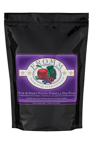 Fromm Four-Star Duck & Sweet Potato Dog Food