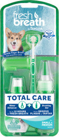 Fresh Breath by TropiClean Total Care Kit for Small Dogs