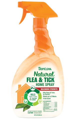 TropiClean Natural* Flea & Tick Home Spray For Dogs