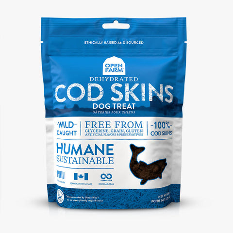 Dehydrated Cod Skins Treat