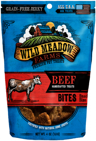 Wild Meadow Bites Chicken Dog Treats