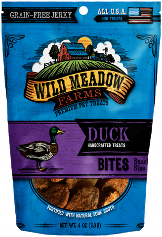 Wild Meadow Bites Duck Dog Treats