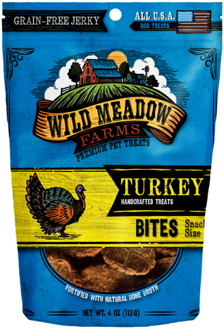 Wild Meadow Bites Turkey Dog Treats