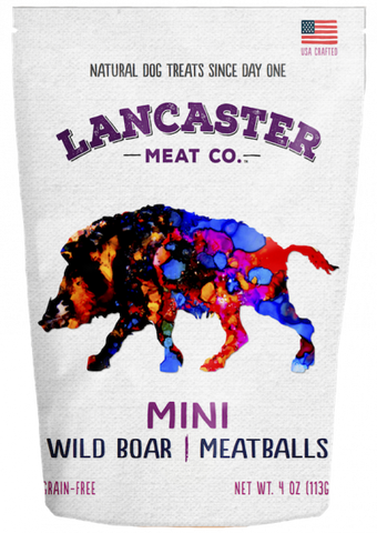 Wild Meadow Mini Meatballs Dog Treats Wild Boar