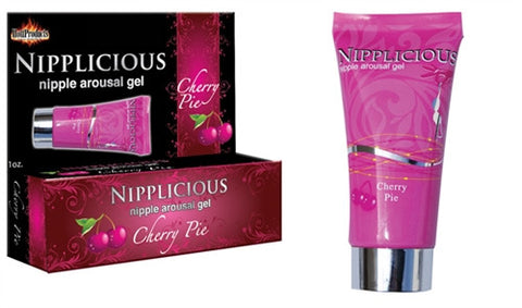 Nipplicious Nipple Arousal Gel - Cherry Pie - 1 Fl. Oz. HTP2581