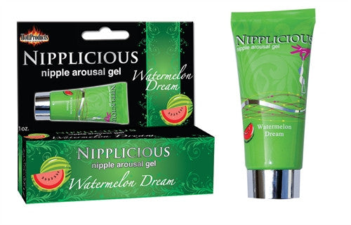 Nipplicious Nipple Arousal Gel - Watermelon Dream - 1 Fl. Oz. - Formerly  Htp742e HTP2582