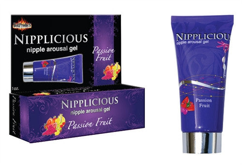 Nipplicious Nipple Arousal Gel - Passion Fruit - 1 Oz. HTP2583