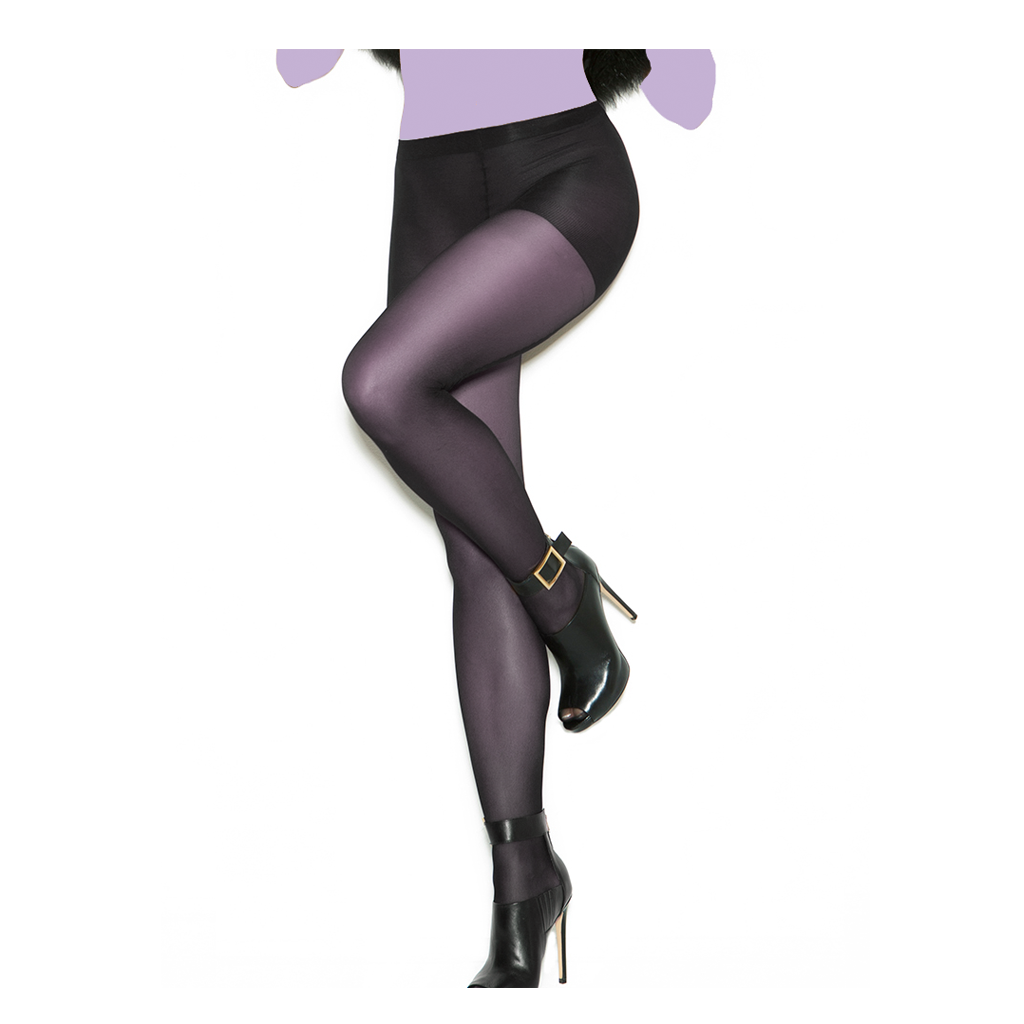 Woven Backseam Pantyhose