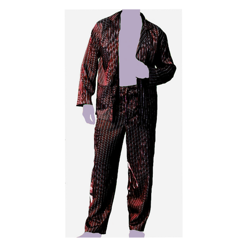 Mens Charmeuse Pajama Set