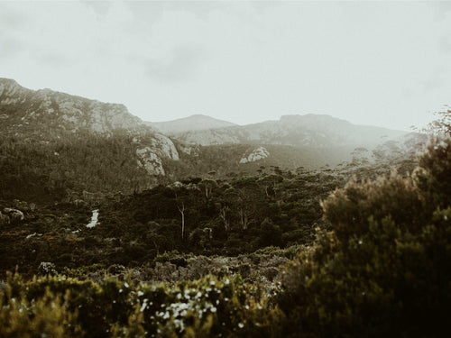 Cradle Mountain Rugged Peaks Photographic Print