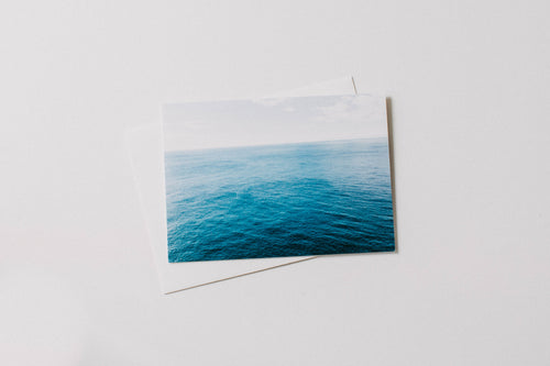 Deep Sea Ocean Lookout Greeting Card