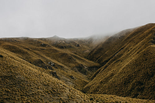 New Zealand Lindis Pass Photographic Print