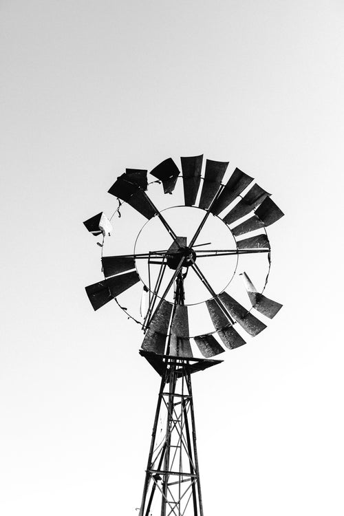 Old Windmill I Photographic Print