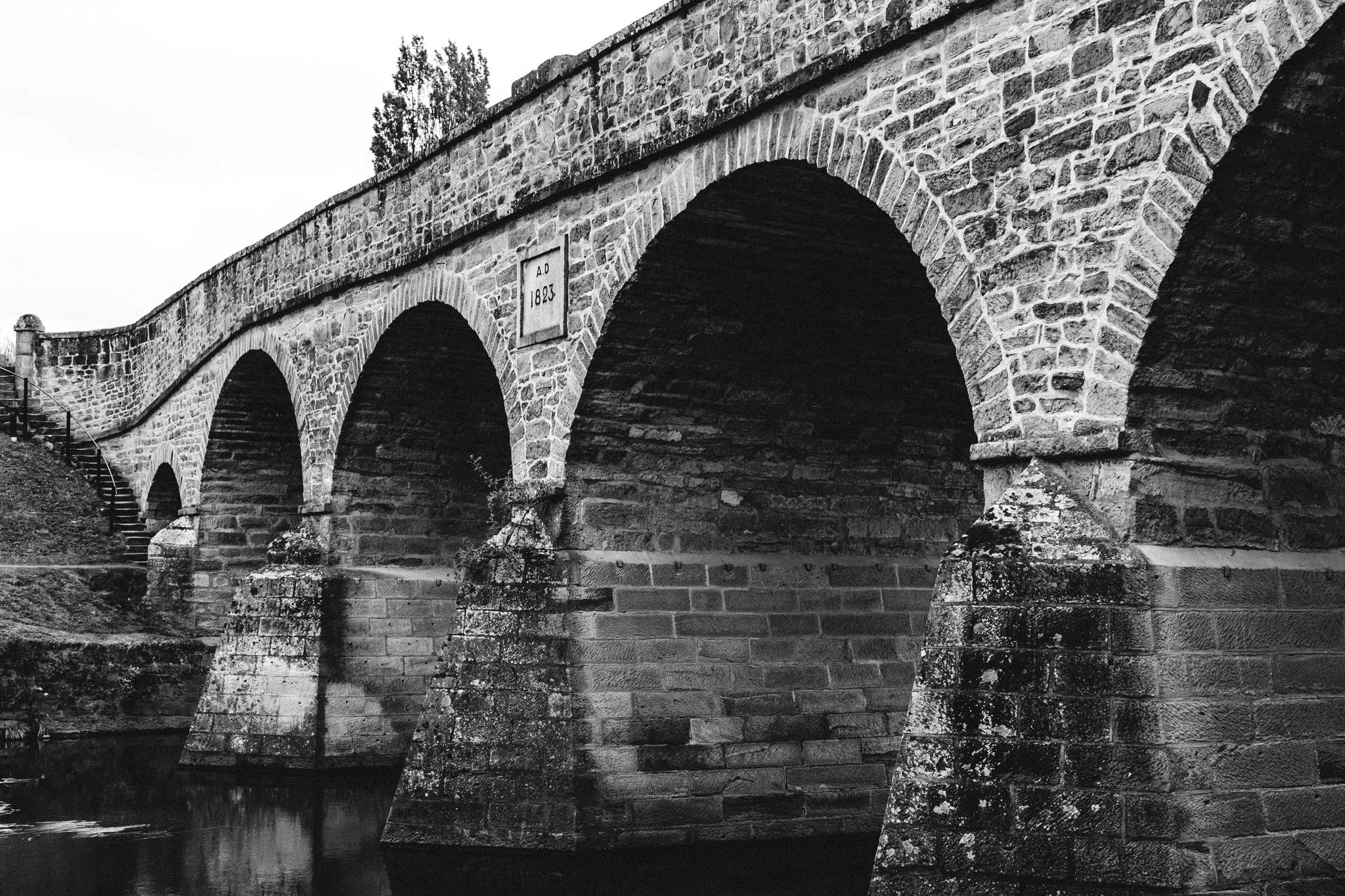 Richmond Bridge B+W Photographic Print