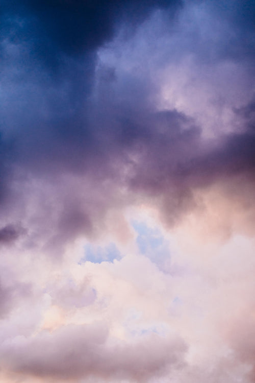 Pastel Clouds II Photographic Print