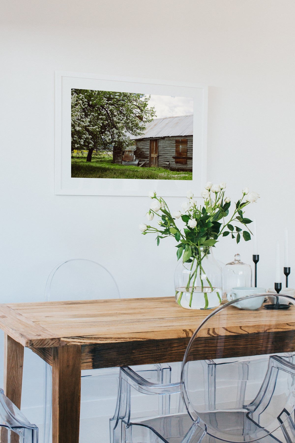 Blossom Barn Colour Photographic Print