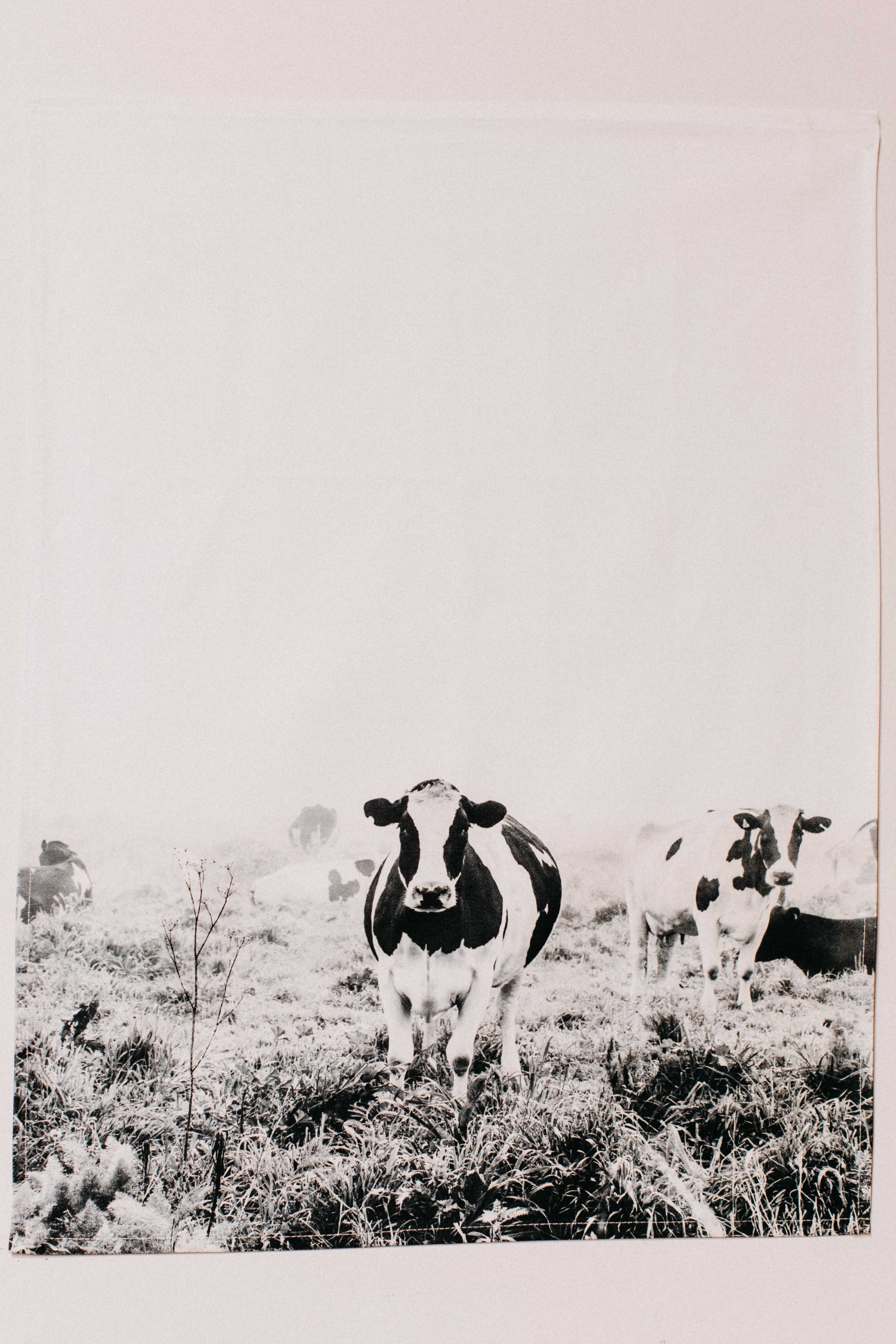 Dolores Dairy Cow Tea Towel