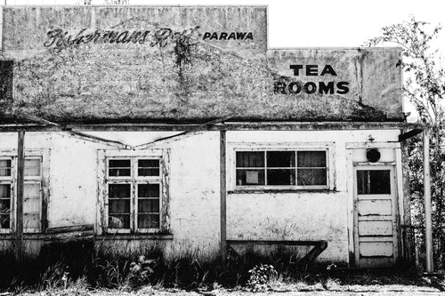 New Zealand Parawa Tea Rooms Photographic Print