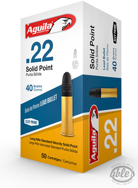 Aguila Super Extra Standard Velocity Ammunition 22 Long Rifle
