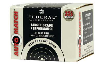 FEDERAL AutoMatch  22LR 40GR SLD 325RDS