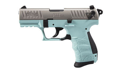 "WALTHER ARMS P22 Angel Blue .22LR 3.4"" Barrel"
