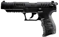 "WALTHER ARMS P22 Target .22 Long Rifle 5"" Barrel Black - CA"