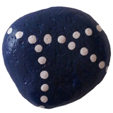 Bluesy2 Stone Painting