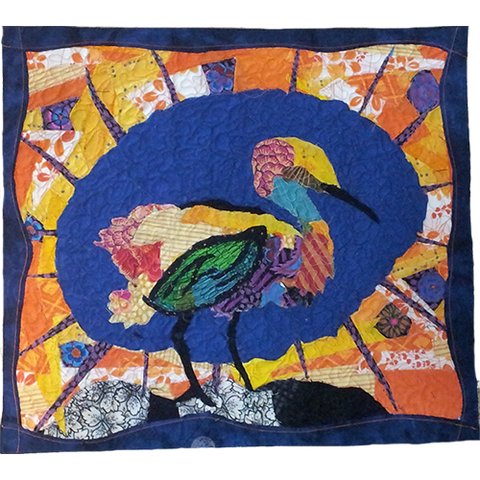 Bird Wall Art Quilt