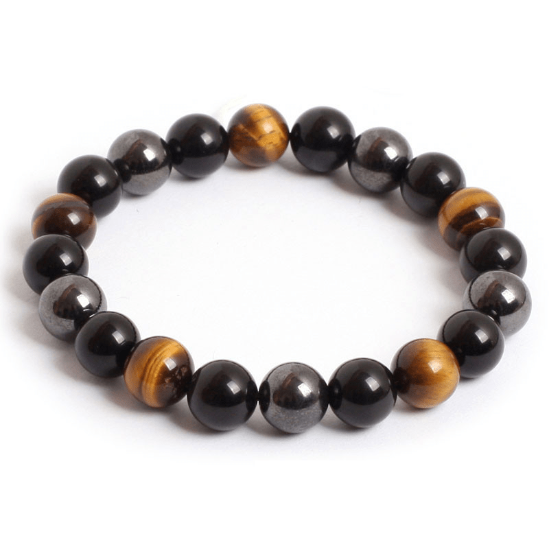 Triple Protection Stone Bracelet - Elegant AF
