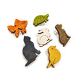 Cute Pets Wine Glass Clips - Set of 6