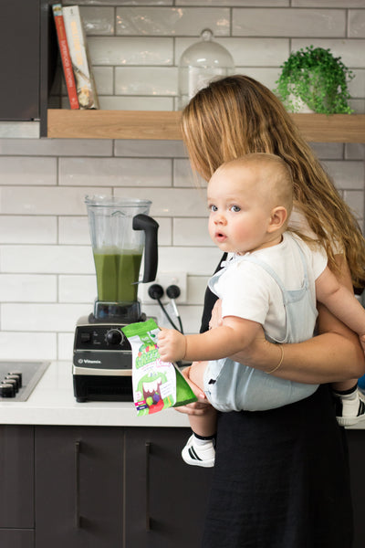 Easiest Green Smoothie For Kids (& Adults)