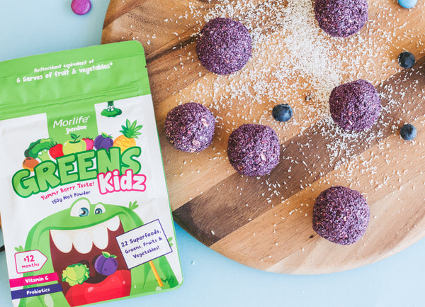 Heads Up: Your Kids Are Going To Love These Hidden-Greens Breakfast Balls