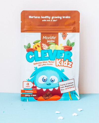 Brain Boosting Nutrition For Your Child: Welcome Morlife Junior Clever Kidz