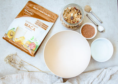 Breakfast Goals: Choc Maca Granola
