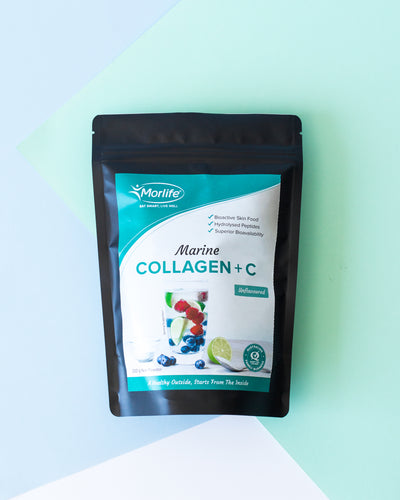 Dive into our Marine Collagen + C