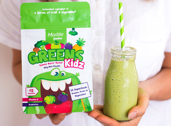 A Kid-Approved Green Smoothie For Your Little Human