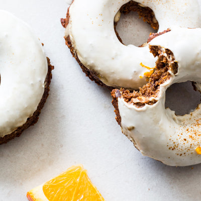 Orange Turmeric Donuts