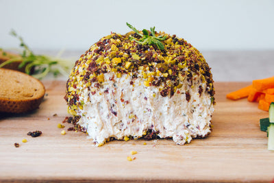 Labneh Cranberry & Pistachio Cheese Ball