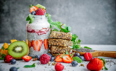 Chia Seeds For Breakfast - Two Ways