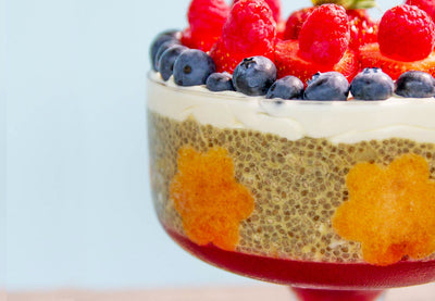 Chia Trifle Pudding
