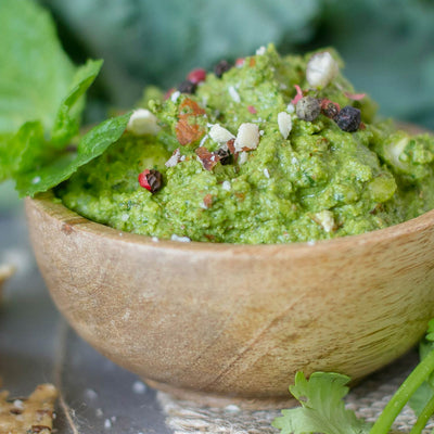 Coriander and Kale Dip
