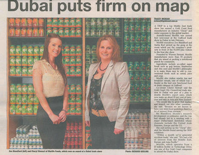 Dubai puts firm on map