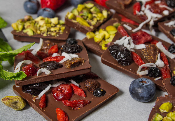 Fruity Dark Choc Snack Bar