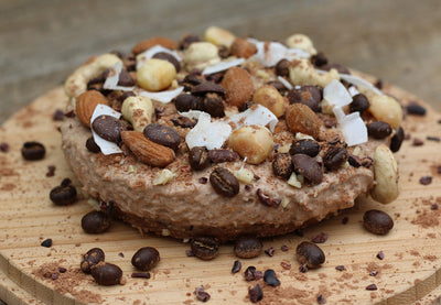 Gluten Free, Maca, Coffee, Choc, No-Bake Cheesecake