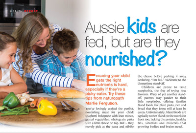 Aussie kids are fed, but are they nourished?
