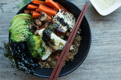 Your Answer to An Easy Peasy Japanese-Inspired Nourish Bowl