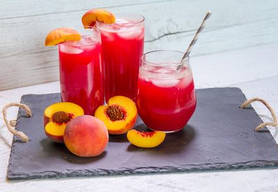 Peach Lemonade With Liva Detox