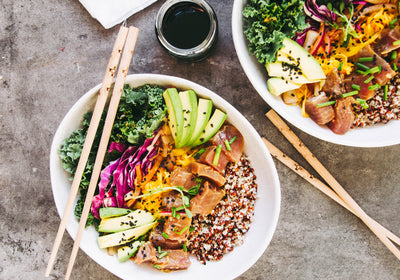 The Other Bowl We're Loving: Tuna Poke Bowl